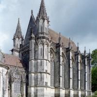 La chapelle de la Vierge vue du sud-ouest (2003)