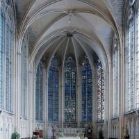 L'intérieur de la chapelle de la Vierge vu vers l'est (2003)