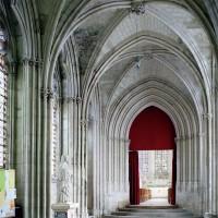 Le passage vers la chapelle de la Vierge vu vers le nord-est (2003)