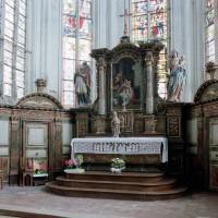 L'autel-retable et les boiseries du choeur (2003)