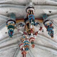 Clef-de-voûte de l'abside (2003)