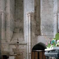 L'intérieur de la base du clocher (2003)