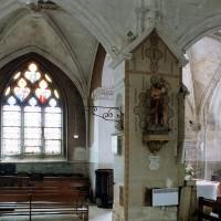 La chapelle sud du choeur vu vers le sud-ouest (2003)