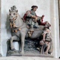 Statue de saint Martin (2003)