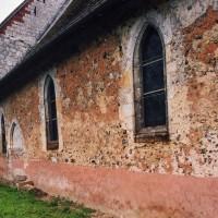 Le mur nord de la nef vu du nord-ouest (2006)