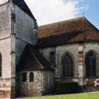 Le clocher et le choeur vus du sud (2006)