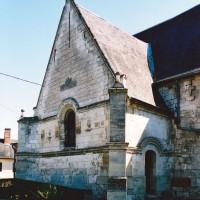 La chapelle seigneuriale vue du nord-ouest (2003)
