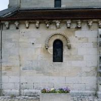 Vue partielle du mur du bas-côté sud (2007)