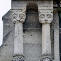 Contrefort à colonnettes à l'ouest du bas-côté sud (2007)