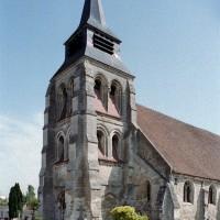 Le clocher-porche vu du sud-ouest (2006)