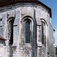 L'abside vue du sud-est (2006)