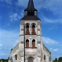 Le clocher porche vu de l'ouest (2006)