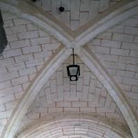 La voûte de la base du clocher porche (2006)