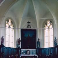 L'abside vue vers l'est (2004)