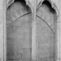 Vue d'une baie de la fausse tribune de la nef (1969)