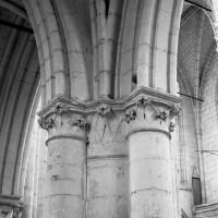 Chapiteaux d'une pile de la nef