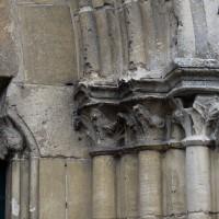 Les chapiteaux de la partie droite du portail ouest (2016)