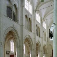 L'élévation sud de la nef vue vers le sud-ouest (2008)