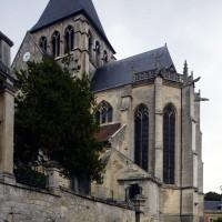 Le choeur et le clocher vus du sud-est (2016)