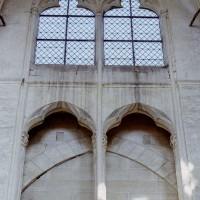 Fausse tribune et fenêtre haute de la nef (2008)
