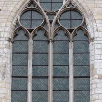 La fenêtre nord du bras nord du transept (2016)