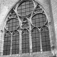 La fenêtre ouest de la nef