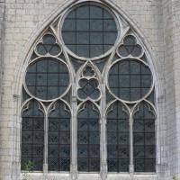 La fenêtre ouest de la nef (2016)