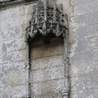 Niche flamboyante en partie inférieure de l'abside (2016)