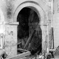 L'arcade de la dernière travée nord de la nef (1970)