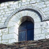 Fenêtre du mur gouttereau sud de la nef (1972)