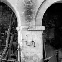 La pile associée aux deux dernières travées nord de la nef (1970)