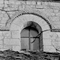 Fenêtre du mur gouttereau sud de la nef (1969)