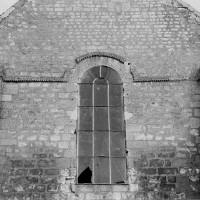 Le pignon de la façade ouest (1969)