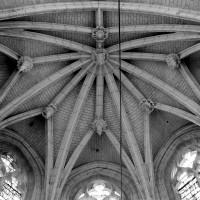 La voûte de l'abside