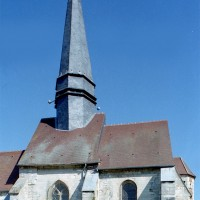 La travée du clocher et le choeur vus du sud (2008)