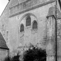 Le chevet de la chapelle du 13ème siècle vu du nord-est (1997)