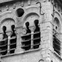 L'étage du beffroi vu du sud-ouest (1977)