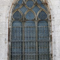 Fenêtre flamboyante de la nef nord (2015)