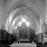 La chapelle du 13ème siècle vue vers l'est (1997)