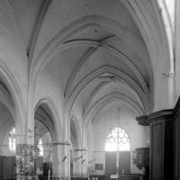 La nef nord vue vers le sud-ouest (1997)
