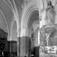 Communication entre la chapelle du 13ème siècle et le choeur roman (1997)