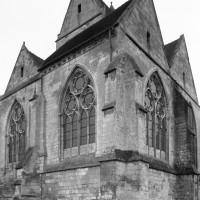 Le choeur et la chapelle nord vus  du nord-est (1992)