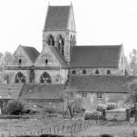 L'église vue du nord (1980)
