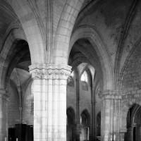 Vue partielle de la chapelle nord vers le sud-ouest (1992)