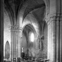 Le bras sud du transept vu vers le sud-est (1992)