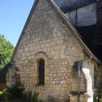 La chapelle nord vue du nord-ouest (2016)