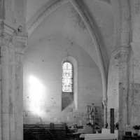 Le bras nord du transept vu vers le nord (1997)