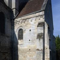 Le bras nord du transept vu de l'est (2015)