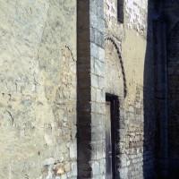 Vue partielle du mur sud de la nef (1972)