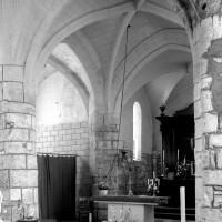 Vue partielle du choeur et de la chapelle nord vers le nord-est (1996)